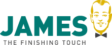 Logo James vlek verwijdering